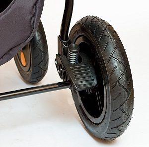 Тормозная система детской коляски